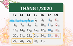 Thông báo lịch nghỉ Tết nguyên đán năm 2020